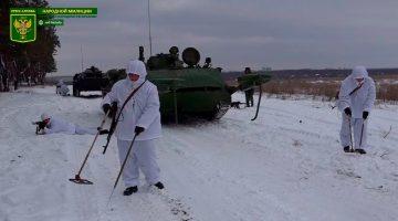 Поздравление инженерных подразделений НМ ЛНР с Днем инженерных войск