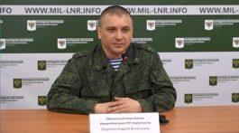 Заявление представителя НМ ЛНР подполковника Марочко А. В. 28 февраля 2017 г. +Eng
