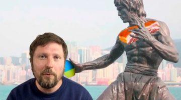 Путлер, вдавишься, с нами Гонконг