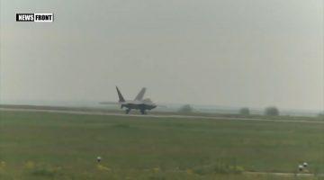 США РАЗМЕЩАЮТ ИСТРЕБИТЕЛИ F-22 RAPTOR В РУМЫНИИ