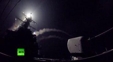США выпустили более 50 ракет «Томагавк» по базе правительственных войск в Сирии