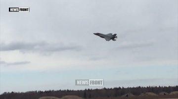 В ЭСТОНИЮ ПРИБЫЛИ АМЕРИКАНСКИЕ ИСТРЕБИТЕЛИ F-35А