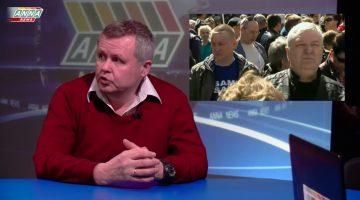 Комментарий в прямом эфире Марата Мусина стрима митинга на Сахарова