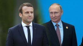 Пресс-конференция Владимира Путина и Эммануэля Макрона по итогу переговоров. Прямая трансляция