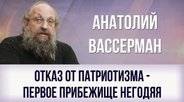 Анатолий Вассерман. Отказ от патриотизма — первое прибежище негодяя
