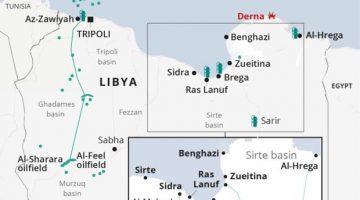 Map - Libya_Egypt_Oil-01