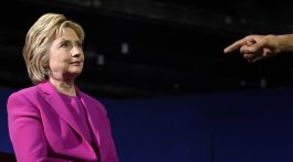 Democratic presidential candidate Hillary Clinton listens as President Barack Obama talks about her during a campaign event at the Charlotte Convention Center in Charlotte, N.C., Tuesday, July 5, 2016. Obama is spending the afternoon campaigning for Clinton. (AP Photo/Susan Walsh)
