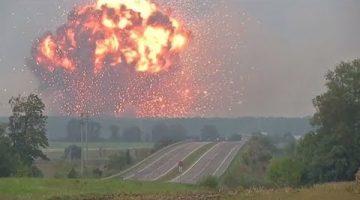 Украина заметает следы взрывами