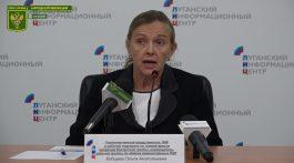 Брифинг Кобцевой О.А. — провокационная попытка Украины несогласованно открыть КПВВ.