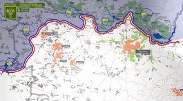 18 ноября 2017 — Обстановка на линии соприкосновения за сутки | Карта обстрелов