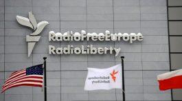 Sídlo RFE/RL v Praze na Hagiboru.