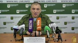 20 января 2018 г. Заявление представителя НМ ЛНР подполковника Марочко А. В.