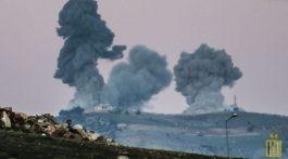 Türk Silahlı Kuvvetleri'ne (TSK) ait savaş uçakları Suriye'nin kuzeyindeki Afrin ilçesinde terör örgütü PYD/PKK'ya ait gözlem noktaları ve çok sayıda hedefi vurdu. ( Burak Milli - Anadolu Ajansı )