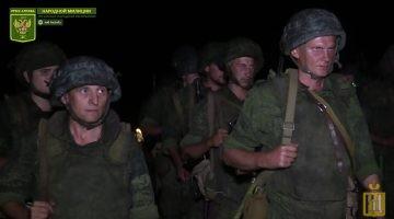 Ночная огневая подготовка военнослужащих НМ ЛНР