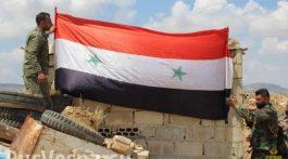 siriyskiy_flag_kpp_ramliya_anklav_rastankpp_ramliya