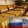 Россия — США: Где ходит золото?