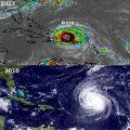 У ураганов Irma, Jose и Katia в сентябре 2017, та же траектория, что и у Igor, Julia, Karl в сентябре 2010. Совпадение? О чем нам говорит фильм Диснея 1959 г?