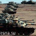 Турецкие танки вошли в сирийский Африн