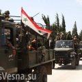 Колонна сирийских войск вошла в курдский Африн и попала под огонь армии Турции