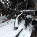 ДНР: Опубликованы кадры с расстрелянным ВСУ санитарным автомобилем