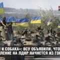 «Блохи и собака»: ВСУ объявили, что наступление на ЛДНР начнется из Горловки