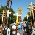 Многотысячный Крестный ход в Почаев 2018. Предпоследний день