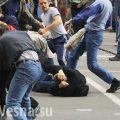 Кровавая массовая драка у метро в Москве: один убитый, несколько человек ранены