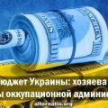 Новый бюджет Украины: хозяева колонии довольны оккупационной администрацией